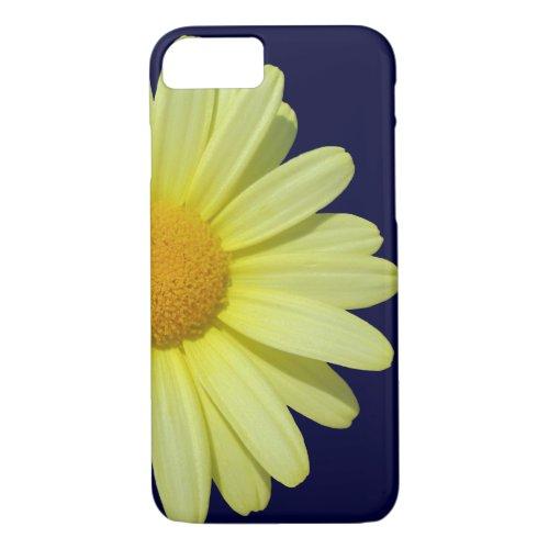 iPhone 8/7 Case - Yellow Daisy on Midnight Sky Phone Case