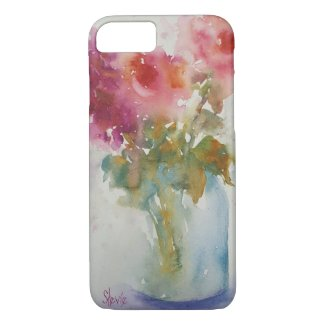 iPhone 8/7 cover - Garden Flowers