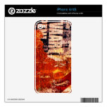 iphone abstract skins decal for iPhone 4
