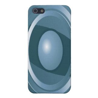 iPhone abstracto 4 del caso de Speck® del ojo azul iPhone 5 Protectores