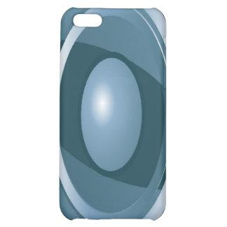 iPhone abstracto 4 del caso de Speck® del ojo azul