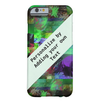 iPhone abstracto 6, Barely There de las pinceladas Funda De iPhone 6 Barely There