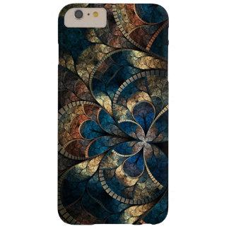 iPhone abstracto 6 Pluss de los azules del mosaico Funda De iPhone 6 Plus Barely There