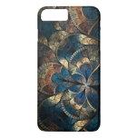 iPhone abstracto 7 Pluss de los azules del mosaico Funda iPhone 7 Plus