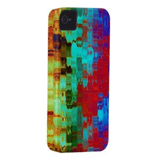 iPhone abstracto brillante colorido maravilloso iPhone 4 Case-Mate Coberturas