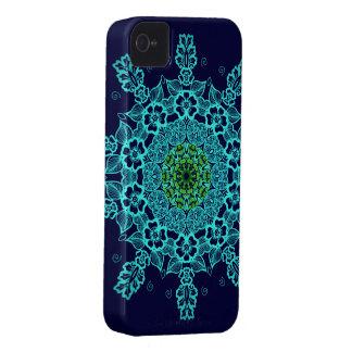 Iphone abstracto de la mandala del modelo 4 casos Case-Mate iPhone 4 cárcasa