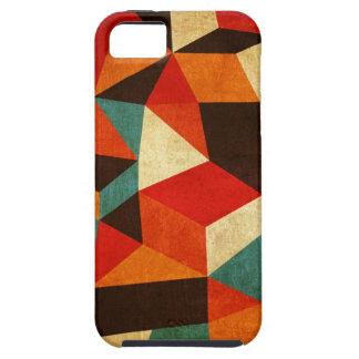 iphone abstracto del caso del vintage iPhone 5 Case-Mate cárcasa