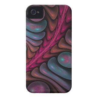 iPhone abstracto del fractal 4 burbujas coloreadas iPhone 4 Case-Mate Cobertura
