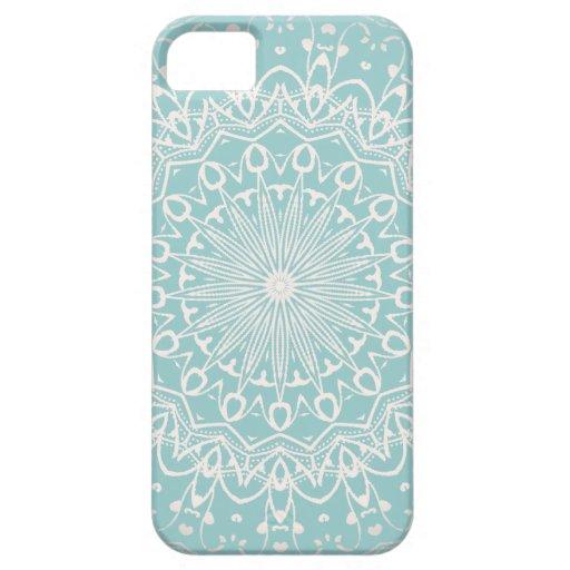 Iphone abstracto del modelo del remolino 5 casos iPhone 5 protectores