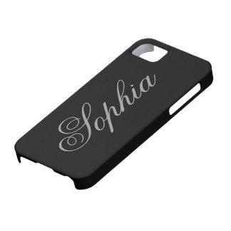 iPhone adaptable negro 5Case iPhone 5 Case-Mate Funda
