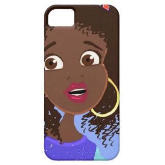 iPhone africano del chica 5 casos iPhone 5 Cárcasa