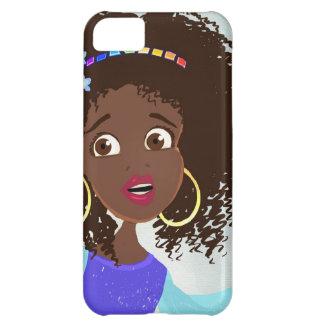 iPhone africano del retrato del chica 5 casos