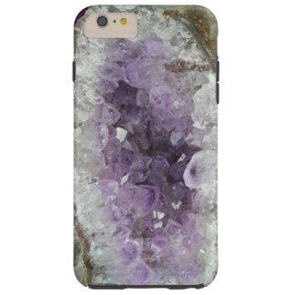 iPhone Amethyst 6 más, caso duro de Geode Funda Para iPhone 6 Plus Tough