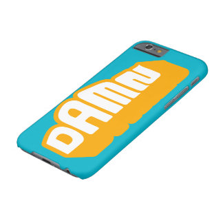 iPhone anaranjado 6 de D A.M.N Neon+ caso Funda Barely There iPhone 6