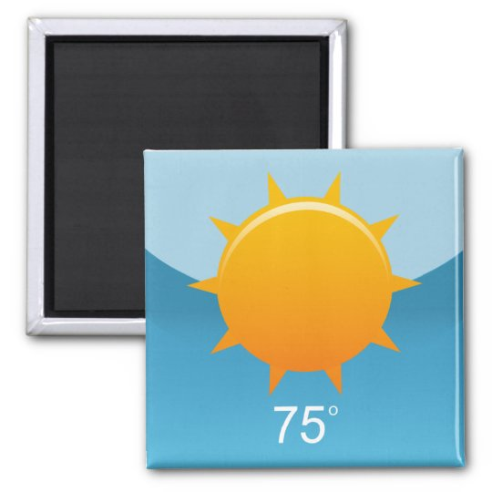 iPhone App Magnet - Weather
