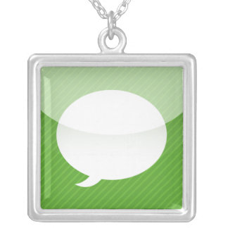 iPhone App Necklace - Messages