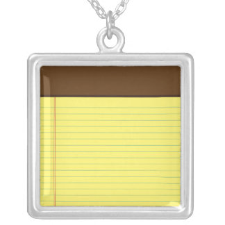 iPhone App Necklace - Notes