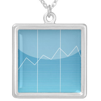 iPhone App Necklace - Stocks