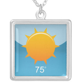 iPhone App Necklace - Weather