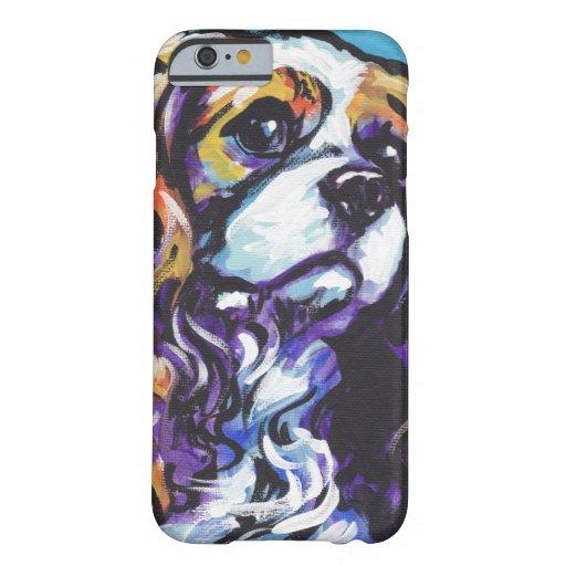 iPhone arrogante del arte pop del perro de aguas Funda De iPhone 6 Barely There