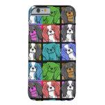 iPhone arrogante del perro de aguas de rey Charles Funda De iPhone 6 Barely There