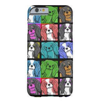 iPhone arrogante del perro de aguas de rey Charles Funda Barely There iPhone 6