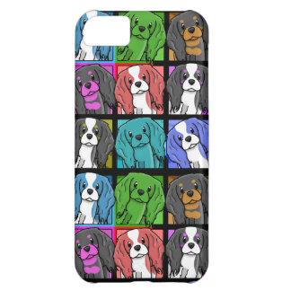 iPhone arrogante del perro de aguas de rey Charles Funda Para iPhone 5C