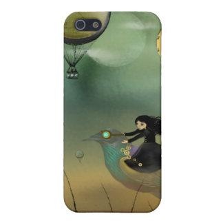 iPhone Art Case - Steampunk Flight iPhone 5 Covers