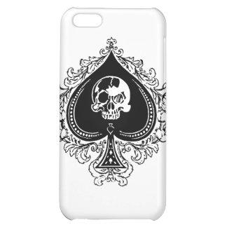 IPhone - as de la caja del póker de espadas