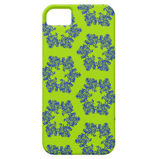 iPhone azul 5 Barely There del copo de nieve iPhone 5 Fundas