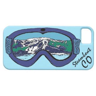 Iphone azul 5 de las gafas de Steamboat Springs Funda Para iPhone 5 Barely There