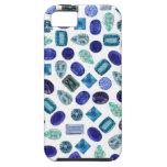 iPhone azul de las gemas 5 Cas iPhone 5 Case-Mate Protectores