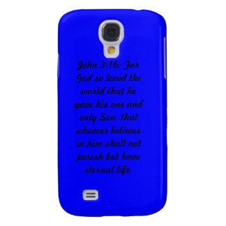 iPhone azul de Tough™ de la casamata del 3:16 de J