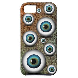 iPhone azul del ojo del iris del globo del ojo 5 Funda Para iPhone SE/5/5s