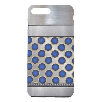 iPhone azul fresco del modelo de la plata 3D más Fundas Para iPhone 7 Plus