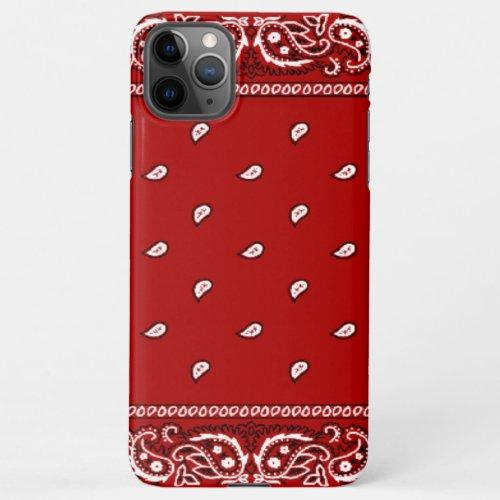 iPhone Bandana Red Phone Case