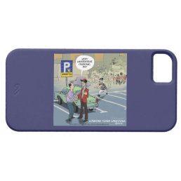 iPhone Barely There 5/5S Funny Cartoon Case