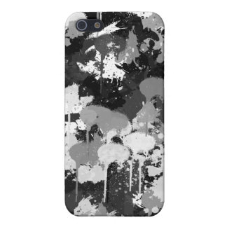 Iphone black and white camo cover for iPhone SE/5/5s