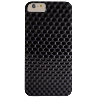iPhone: Black Metal Speaker Grille Net Barely There iPhone 6 Plus Case