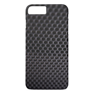 iPhone: Black Metal Speaker Grille Net iPhone 8 Plus/7 Plus Case