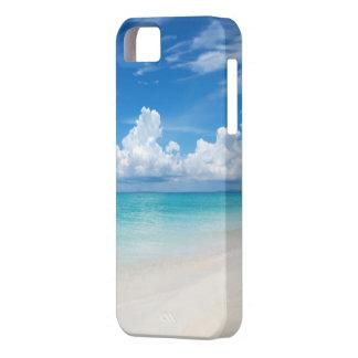 iPhone blanco 5/5s de la playa arenosa iPhone 5 Funda