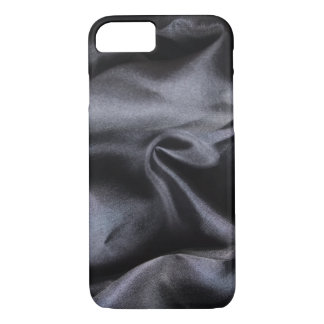 iPhone: Bright Black Silk Fabric. Magic Light iPhone 7 Case