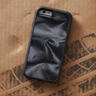 iPhone: Bright Black Silk Fabric. Magic Rugged Tough Xtreme iPhone 6 Case