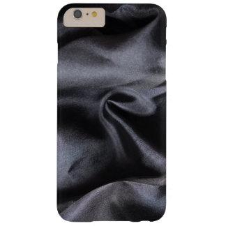 iPhone: Bright Black Silk Fabric. Magic Silk Barely There iPhone 6 Plus Case