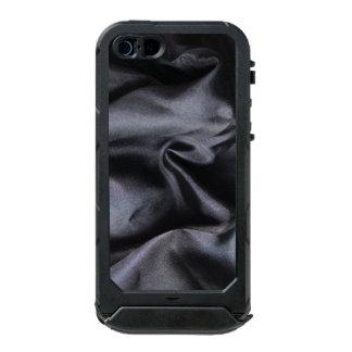 iPhone: Bright Black Silk Fabric. Magic Silk Waterproof Case For iPhone SE/5/5s