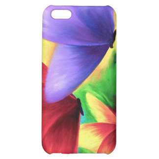 iPhone Butterfly Painting Case iPhone 5C Case