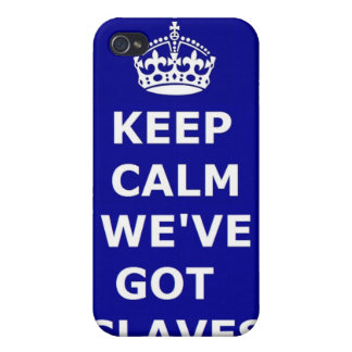 Iphone Case 4/4 Keep Calm We've Got Slaves