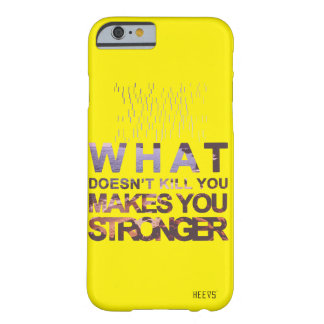 "iPhone Case 6/6S ""Stronger"" Yellow Heevs™"