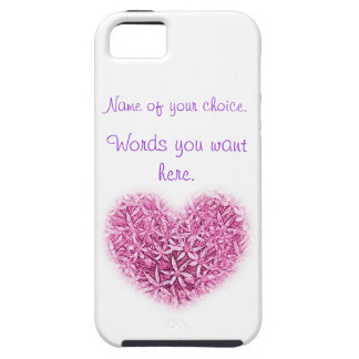 iphone case a pretty design to customize with name iPhone 5 cases
