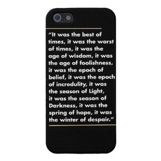 "iPhone case ""A Tale of Two Cities"""